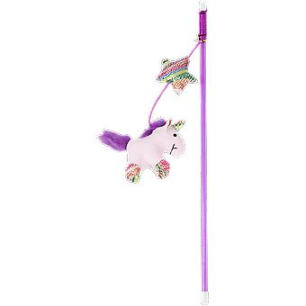 Pawise Unicorn Wand With Catnip for Cats (Katten , Speelgoed , Staven)