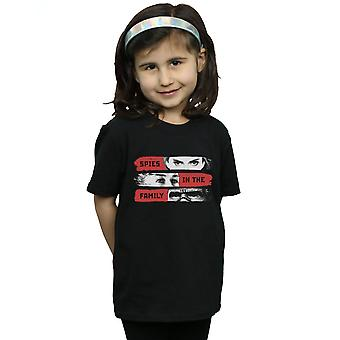 Marvel Girls Black Widow Movie Spies In The Family T-Shirt