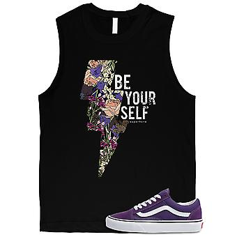 Be Yourself Vintage Mens Muscle Top