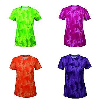 Tri Dri Womens/Ladies Hexoflage Performance Short Sleeve T-Shirt