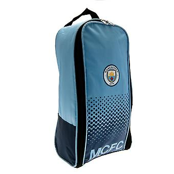 Manchester City FC Face Design Boot Bag
