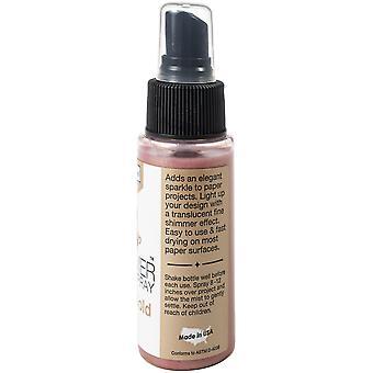 Imagine Sheer Shimmer Craft Spray 2oz - Rose Gold