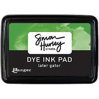 Simon Hurley create. Dye Ink Pad - Lator Gator