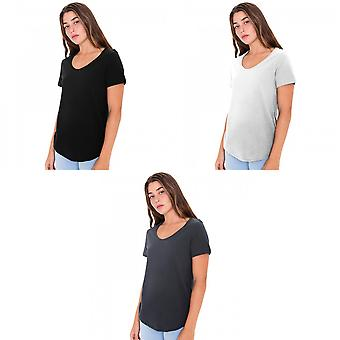American Apparel Womens/Ladies manches courtes Ultra Wash T-Shirt