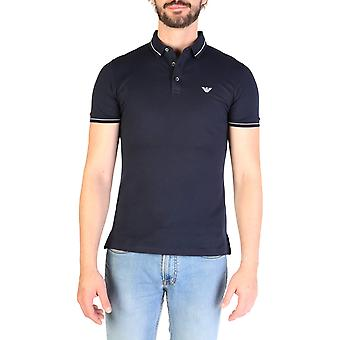 Emporio Armani Original Men Spring/Summer Polo - Blue Color 48868