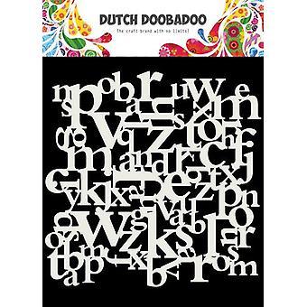 Niederländische Doobadoo niederländische Maske Kunst 15x15cm Buchstaben 470.715.620