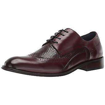 Stacy Adams Mens 25238-601 Leather Lace Up Dress Oxfords