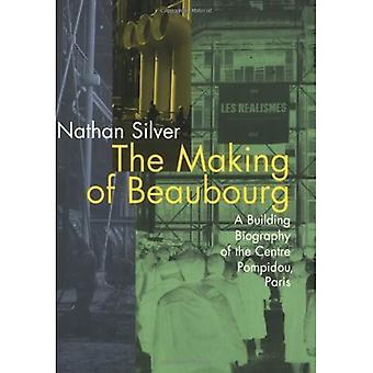De Beaubourg: una biografía de edificio del centro Pompidou París