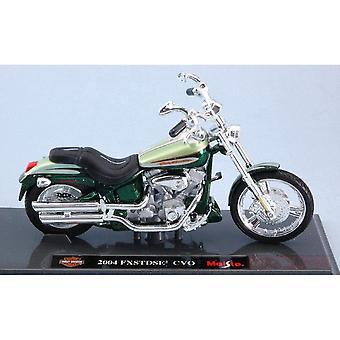 Maisto Harley Davidson FXSTDSE2 CVO 2004 Groen 1:18