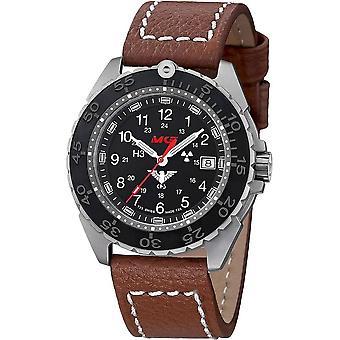 KHS Wristwatch الرجال المنفذ تيتان CR KHS. ENFTCR. LB5