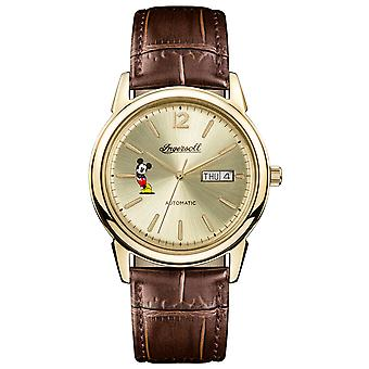 Ingersoll trenton union watch for Unisex Analog Automatic with Cowskin Bracelet ID00202