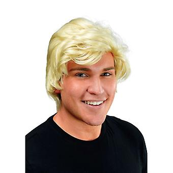 Man's. Blonde Side Parting