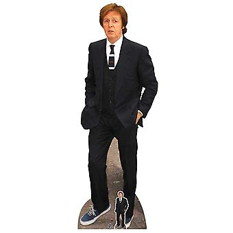 Paul McCartney Blue Suit Lifesize Cardboard Cutout / Standee / Standup