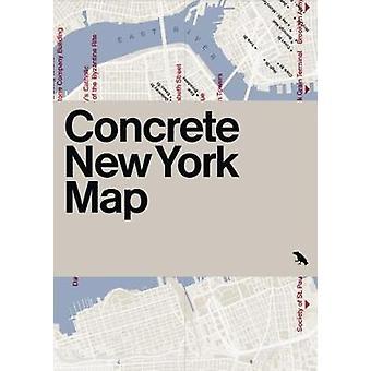 Concrete New York Map by Allison Meier - 9781912018659 Book