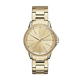 Armani Exchange Ladies Quartz analogue watch with stainless steel band AX4346
