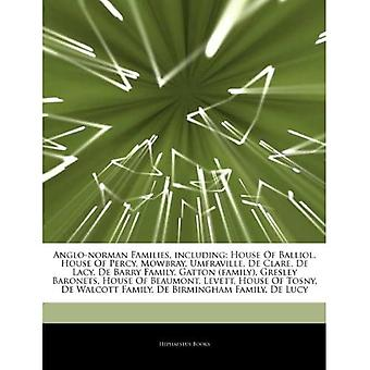 Articles On Anglo-norman Families, Including: House of Balliol, House of Pe