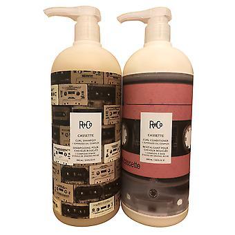 R+Co Cassette Curl Shampoo & Conditioner Duo 33.8 OZ