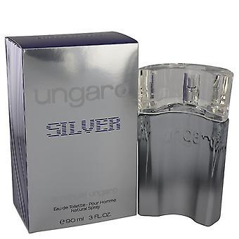 Ungaro Silver Eau De Toilette Spray By Ungaro 3 oz Eau De Toilette Spray
