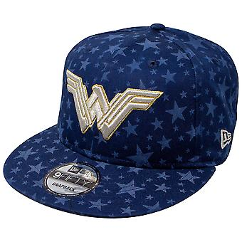 Wonder Woman Laser Etch Symbols 9Fifty Regolabile Nuovo Era Cappello