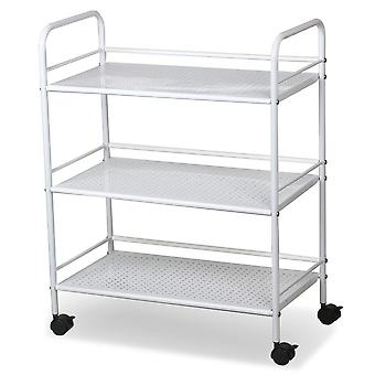 3 Shelf Large Salon Beauty Trolley Cart Spa Storage Dentist Wax Treatments