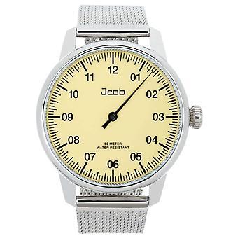 Jcob Einzeiger JCW001-SS01 beige men's watch