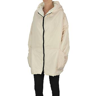 Kimo No-rain Ezgl516002 Women's White Nylon Outerwear Jacket