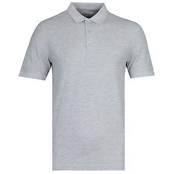 Farah Modern Fit Grey Marl Cove Polo Shirt