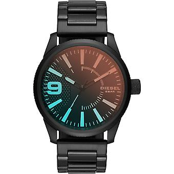 Diesel DZ1844  Black Stainless Steel Band Multicolored Quartz Men's Watch