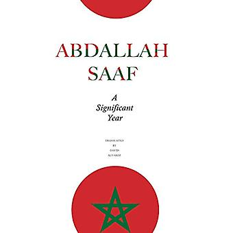 A Significant Year by Abdallah Saaf - 9780857425430 Book