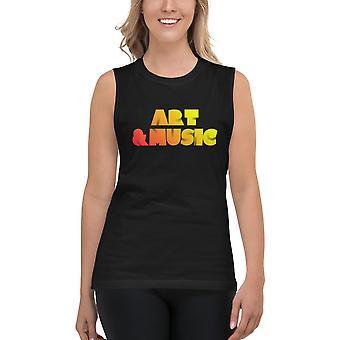 Unisex Muscle Shirt | Art & Music