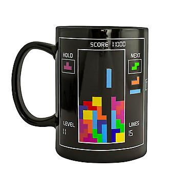 Tetris Heat Changing Tall Mug Licensed Tetris Mug for Retro Gaming Fans 325ml