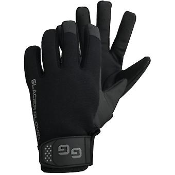 Glacier Glove Elite Tactical Full Finger Gloves - Black
