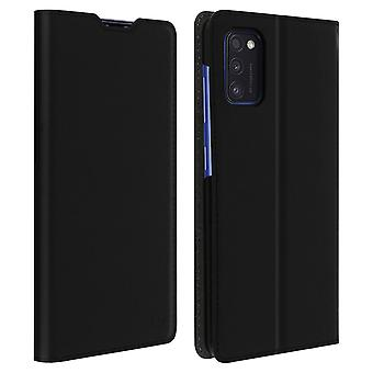 Protective Cover for Galaxy A41 Case Folio video support Muvit Black