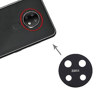 Camera Lens for Nokia 7.2 / 6.2 TA-1196 TA-1198 TA-1200 TA-1187 TA-1201 Spare Part Camera Cam Lens Repair New
