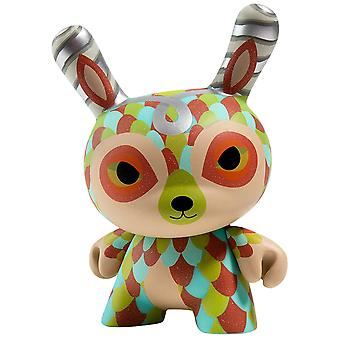 """Dunny the Curly Horned Dunnylope 5"""" Dunny"""