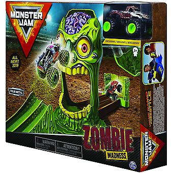 Monster Jam Zombie Madness and Truck - Escala 1:64