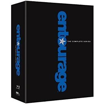 Entourage: Komplett serie [Blu-ray] USA import