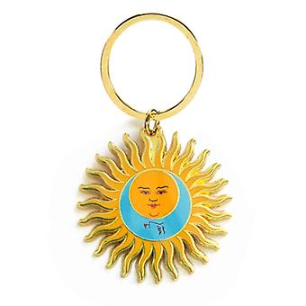 King Crimson Keyring Keychain Larks Tongues In Aspic new Official Metal
