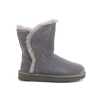 UGG - Shoes - Ankle boots - FLUFF_HIGH-LOW_1103746_CHARCOAL - Ladies - dimgray - EU 38