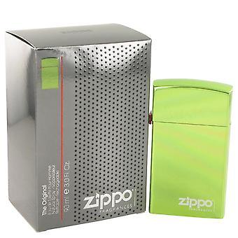 Zippo vert eau de toilette spray rechargeable par zippo 491519 90 ml