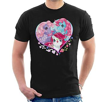 My Little Pony Friendship Love Heart Miesten&s T-paita