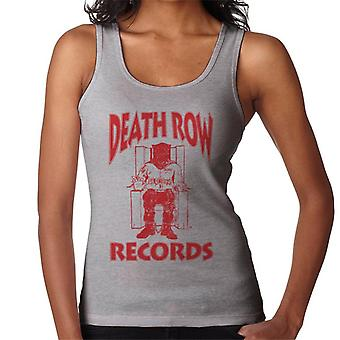 Death Row Records Chair Logo Red Women's Vest