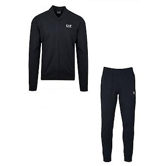 EA7 Navy Jersey Tracksuit