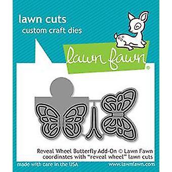 Lawn Fawn Reveal Rad Schmetterling Add-on stirbt