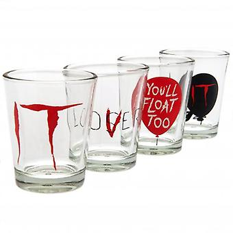 IT 4pk Shot Glass Set
