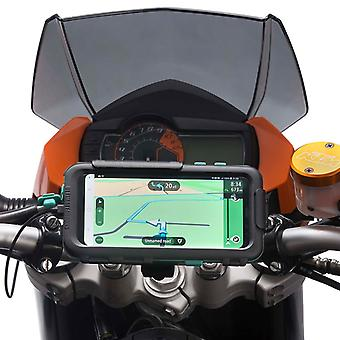 Motorcycle handlebar mount waterproof tough case samsung galaxy s8 s8+