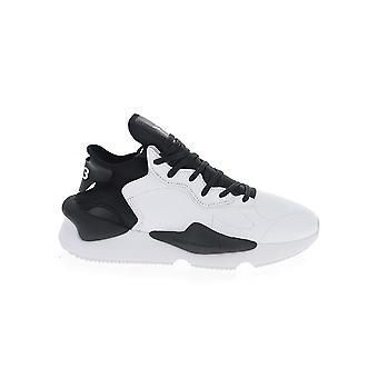 Y-3 Fx7280 Men's White/black Leather Sneakers