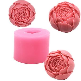 New Rose Shape Silicone 3d Soap Mold For Cupcake Jelly Candy Chocolate Decoration