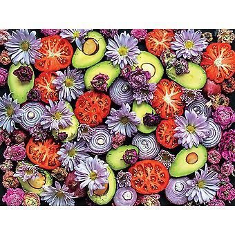 Puzzle - Ceaco - Ugly Produce - Guacamole 300pcs New 2259-3