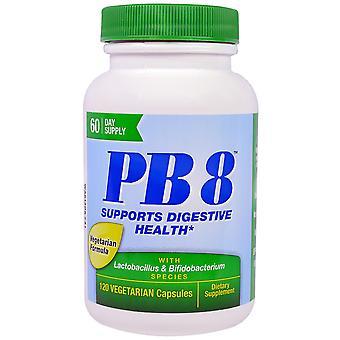 Nutrition Now, PB 8 With Lactobacillus & Bifidobacterium, 120 Vegetarian Capsule